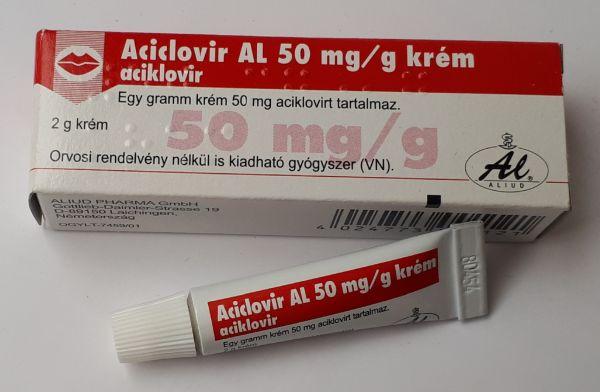 Acyclovir 5 krém vagy kenőcs psoriasis kezelésére