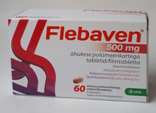 a tabletták visszérből való fényképe