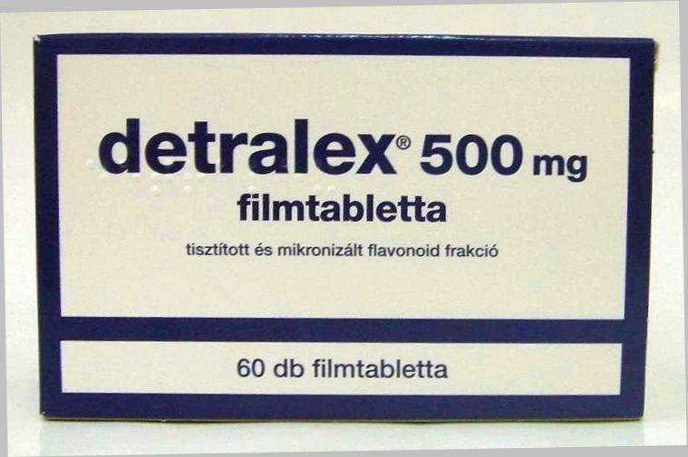 Detralex a prostatitis alatt